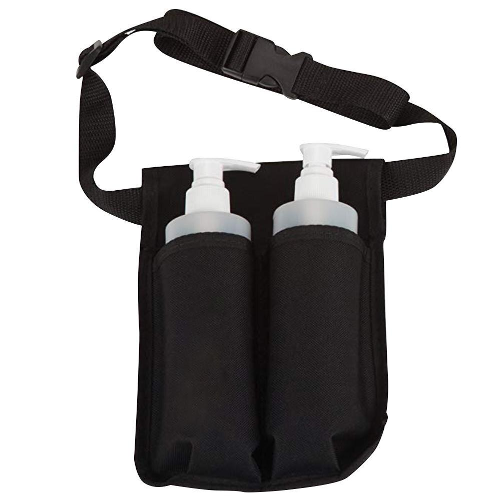 Кобура для массажа талии, регулируемый двойной держатель для массажного масла, лосьона, эфирных материалов, портативная, прочная, для сохра...