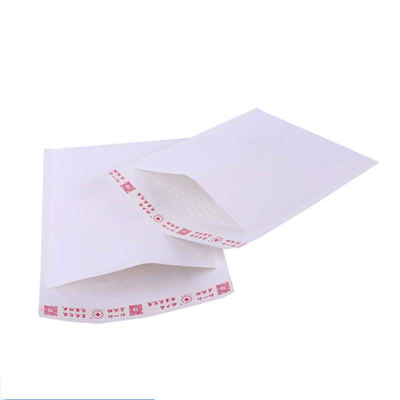 100Pcs Wholesale Bubble Envelope White Kraft Bubble Mailer Shockproof Shipping Mailing Bags Express Packaging Bag Business