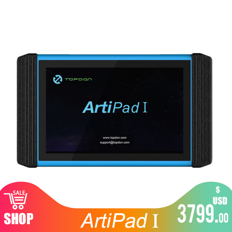 WiFi TOPDON ArtiPad I Tablet OBDII Diagnostic Scan Tool Support ECU Coding And Reprogramming Better Than Autel MaxiSys Elite