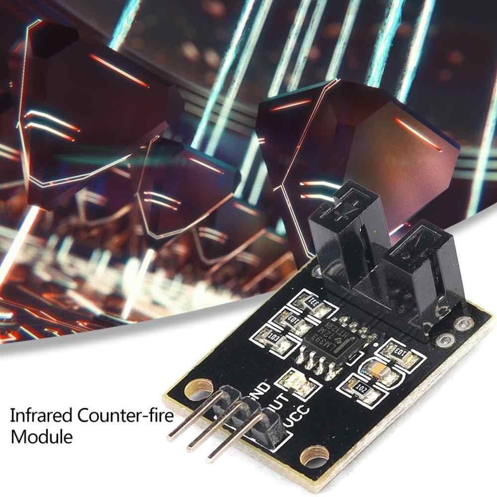 Módulo de Sensor de radiación fotoeléctrico Sensor de recuento de radiación código de rueda velocidad cuerpo estrecho materiales reflectantes