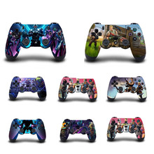 1pc PS4 Skin Sticker Decal For Sony PS4 Playstation 4 for Dualshouck 4 Game PS4 Slim Pro Controller Gamepad Skin Stickers