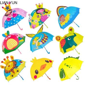 Paraguas de caricatura de chico s para niñas niños Parapluie chico Enfant...
