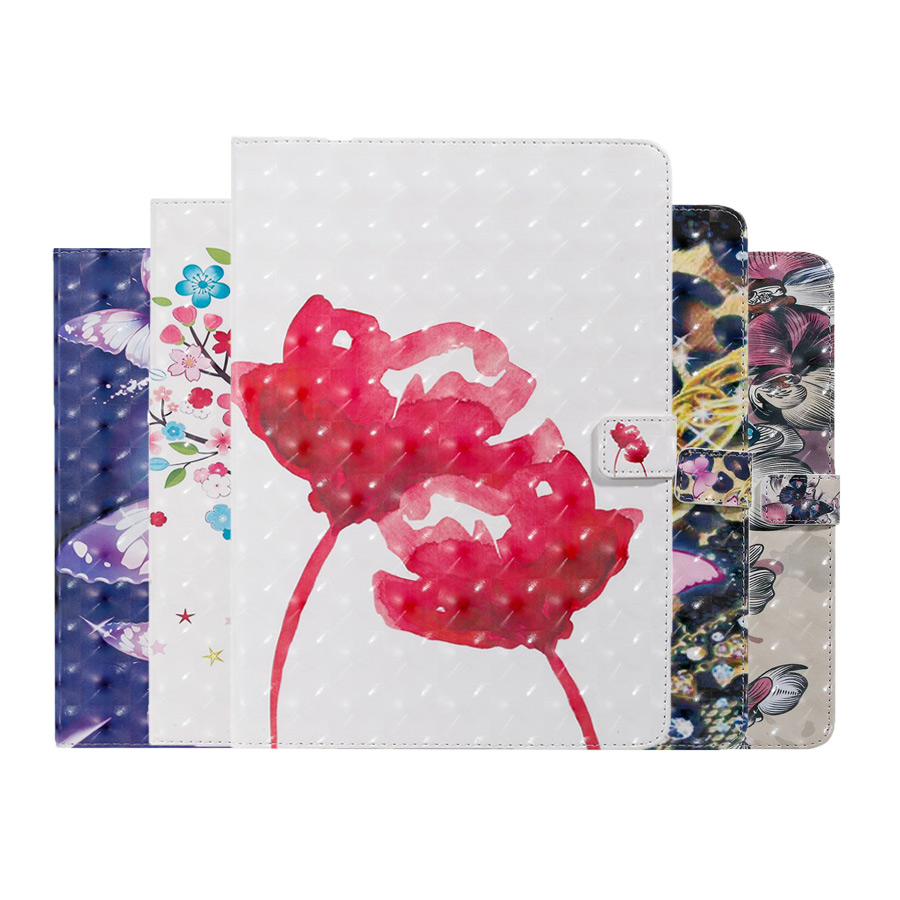 3D Flower Print PU <font><b>Leather</b></font> <font><b>Case</b></font> For New <font><b>iPad</b></font> <font><b>mini</b></font> <font><b>5</b></font> <font><b>2019</b></font> 7.9 inch Smart Cover For <font><b>iPad</b></font> <font><b>Mini</b></font> 1 2 3 4 <font><b>5</b></font> Funda tablet <font><b>case</b></font>+Film+Pen image