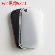 Pour Blackberry Curve 9320 étui en Silicone souple coque de Protection arrière coque de téléphone Fundas boîtier