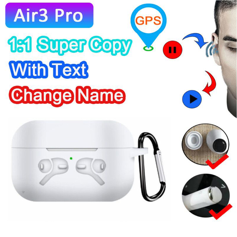 NEW TWS Pro 3 Wireless Earphones Bluetooth Headsets Earbuds Earphones PK H1 Chip Best Model Now High Quatity