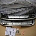 Бесплатная доставка 2 шт передний ABS хром задний бампер Защита противоскользящая пластина для Kia Sportage R 2010 2011 2012 2013 2014
