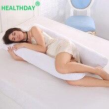 Хлопковые подушки спальные подушки для беременных эргономичный дизайн Подушка u-образная Подушка для беременных постельные принадлежности