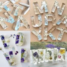 G DIY Casting Mold Number Alphabet Jewelry Reversed Letter Making Art Craft Resin Mould