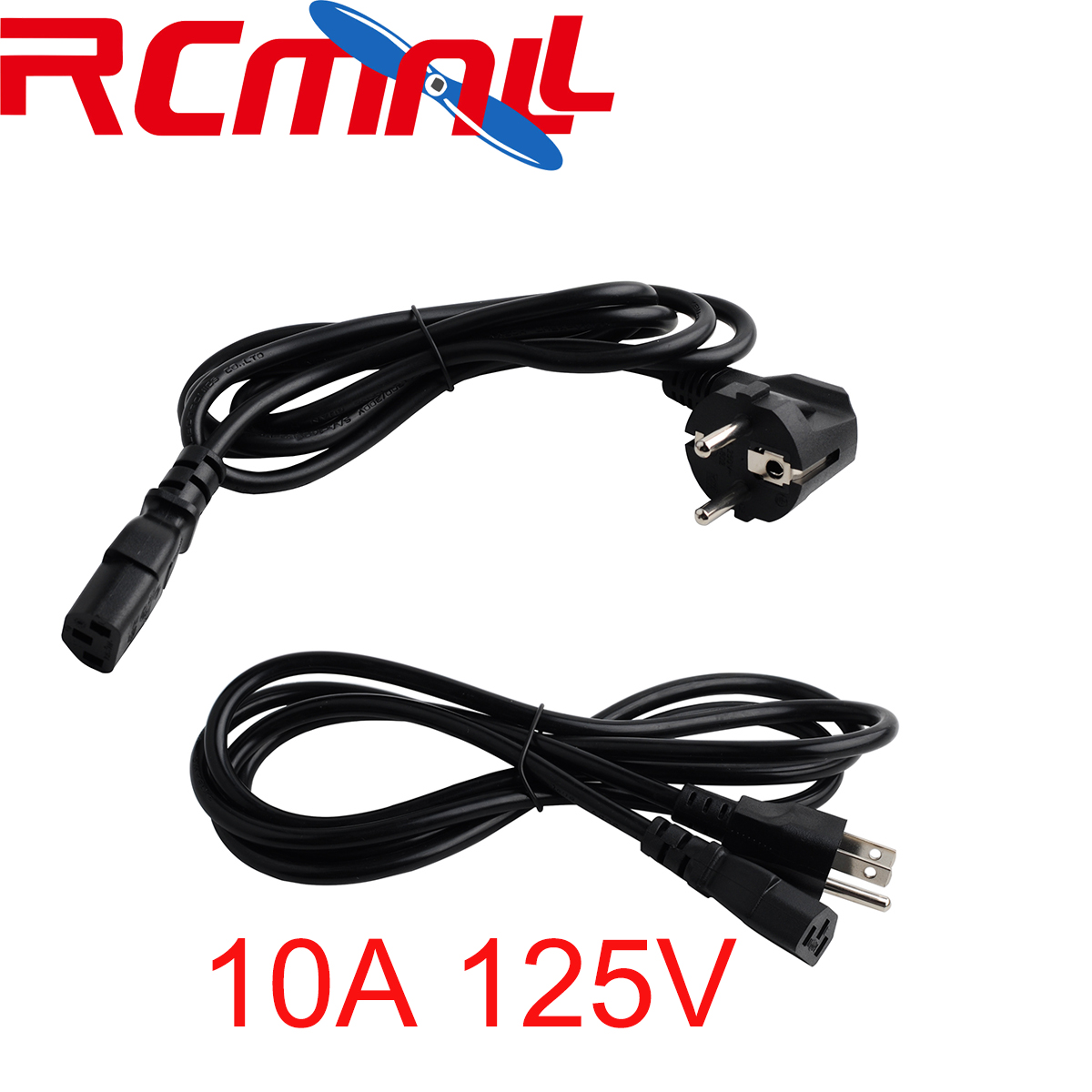 AC Power Supply Adapter Cord Cable Lead 10A 125V / 16A 250V / 10A 250V Charging Charger EU/US/AU Plug 1.5m