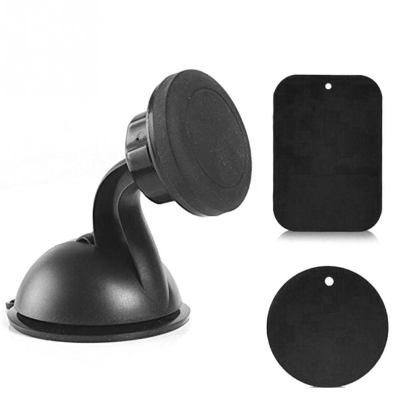 Universal Black Magnetic 360Rotary Mobile Phone Mount Holder