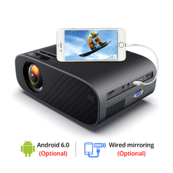 Everycom M7 LED Video Projector 720P Portable Optional Android Wifi Bluetooth Beamer Support Full HD 1080P Home Theater Cinema