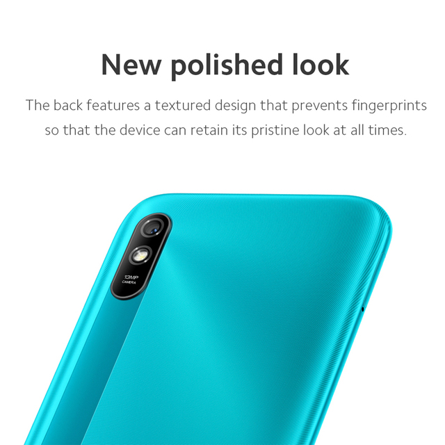 New Global Version Xiaomi Redmi 9A 9 A Smartphone 2GB 32GB MTK Helio G25 Octa Core 6.53 inch 5000mAh 13MP Camera Mobile Phones 6