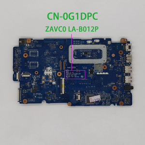 Image 2 - CN 0G1DPC 0G1DPC G1DPC ZAVC0 LA B012P w I5 4210U CPU for Dell Inspiron 15 5547 5447 Notebook PC Laptop Motherboard Mainboard
