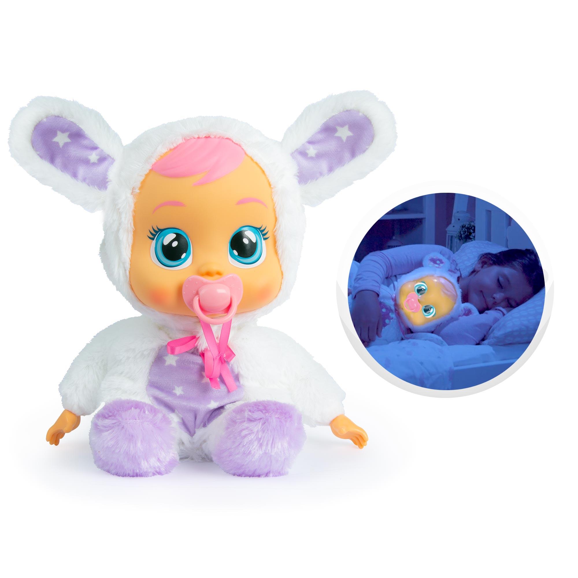 IMC Toys Bebés Llorones, CB GOODNIGHT CONEY, Coney llora con lágrimas reales y ayudará a los niños a conciliar el sueño de la manera más mágica, funciona con pilas, Muñecas Regalo Original, Christmas gifts, 93140|Muñecas| - AliExpress