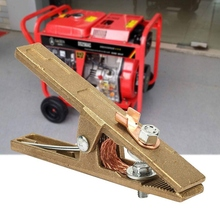 Grip-Clip Clamp Welder Earth Ground-Cable Welding-Machine Copper Brass for 300 A-Shape