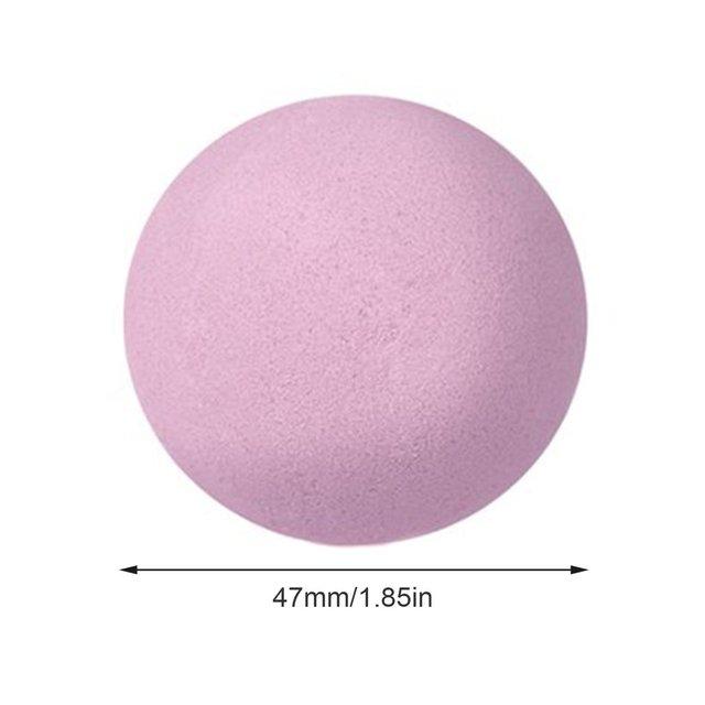 6 pcs Organic Bath Bombs Bubble Bath Salts Homemade Stress Relief Lavender Lemon Peppermint Chamomile Milk Jasmine Flavors 5