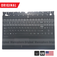 New Original Top Cover Upper Case Palmrest for Lenovo Legion Y530 Y530 15ICH with Backlit US Keyboard Touchpad 5CB0R40212