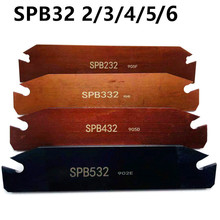 SPB26 SPB32 indexable insert blade 26mm 32mm SPB26/32 part lathe for splitting tools SP200/SP300/SP400 turning
