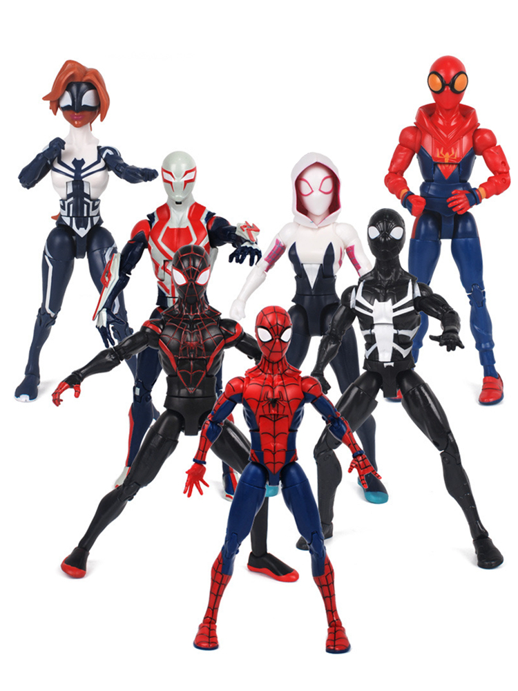 Kids Toys Dolls Figures-Model Spider-Man-Collection Amazing Marvel Super-Hero 17CM Gift
