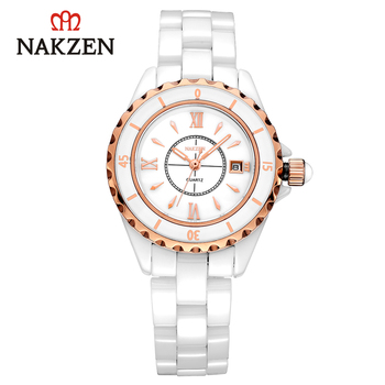 NAKZEN Women's Watches Quartz Watches Clock Sports Watches Waterproof Female Hand Lady Watch Brand Luxury Christmas Woman Watch
