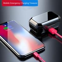 Bluetooth Earphone Mini Earphone Intelligent Noise Reduction Wireless Headset Power Bank Phone Bracket Charging Box