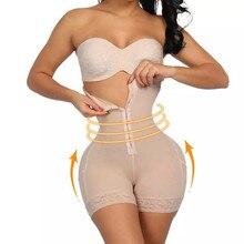 Сексуальное Кружевное Утягивающее нижнее белье с высокой талией, моделирующее нижнее белье для женщин