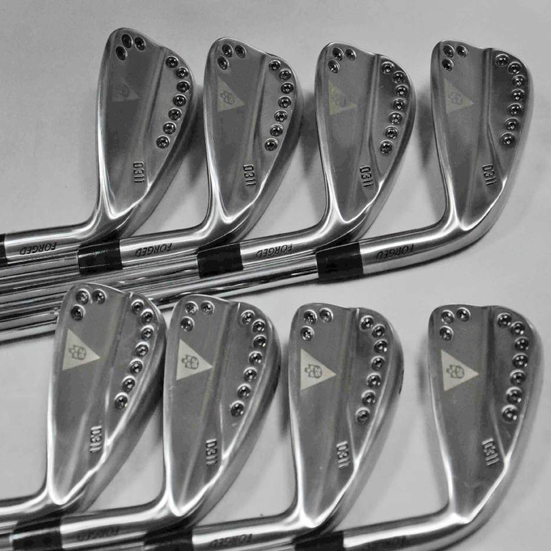 Golf Iron 11 Silver Skull Golf Club 3-9w 8piece Forged Irons Graphite And Steel Shafts 8pcs Free Shipping