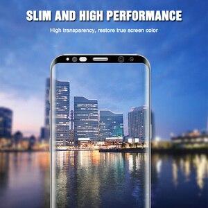 Image 5 - 200D كامل منحني الزجاج المقسى لسامسونج غالاكسي S9 S8 زائد ملاحظة 9 8 واقي للشاشة على سامسونج S7 S6 حافة s9 طبقة رقيقة واقية