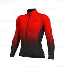Nuevo Jersey de manga larga conjunto de invierno chaqueta ropa ciclismo hombres camino uniforme de bicicleta Bib Pants Set ropa