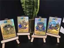 12 шт/компл q версия saint seiya redraw Золотая Коллекционная