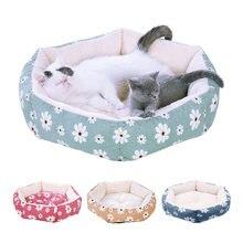 Шестигранник кошка гнездо Зима pet Подушка для шезлонга малых