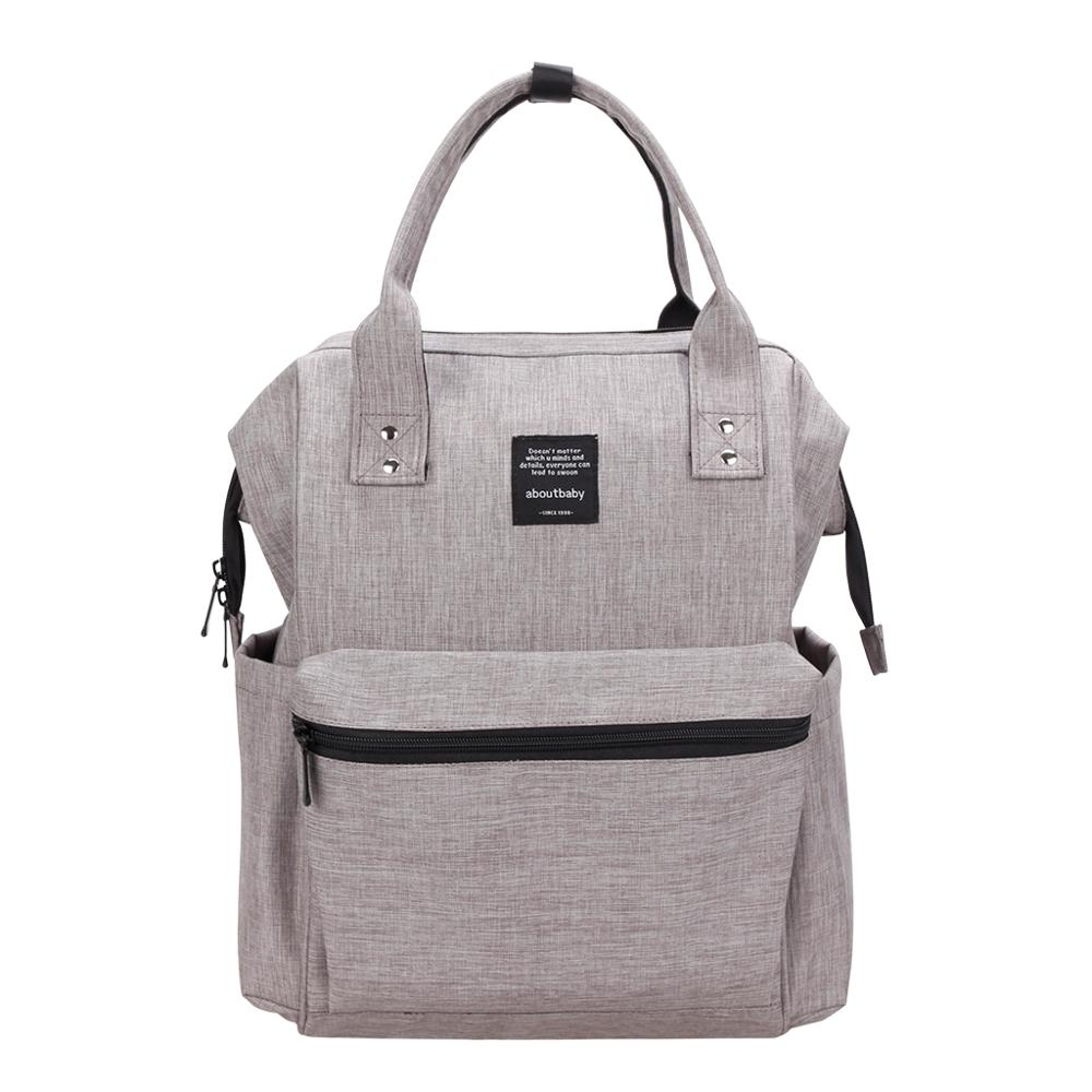 Aboutbaby Portable Maternity Nappies Bags Large Capacity Backpacks Multifunctional Nursing Bag Baby Care Bag for Mother Kids