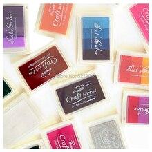 InkPad 23 Цвета, милые модные резиновые марки на масляной основе для рукоделия, для чернил, тканевая деревянная бумага, свадебный подарок, печат...