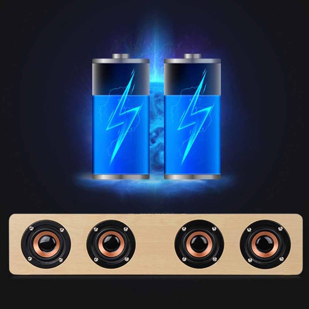 Nirkabel Bluetooth Speaker Portable HI FI Shock Bass Speaker Bluetooth Soundbar Speaker Subwoofer Caixa Som De