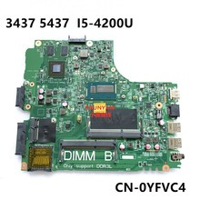 Mainboard 3437 I5-4200U Dell 5437 Inspiron NEW FOR Laptop Doe40-Hsw/12314-1 PWB:VF0MH