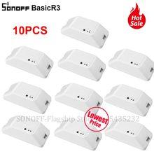 3/10PCS Itead SONOFF Basic R3 Wifi Switch Relay Module Switch Module Wireless Smart Light Switch Wifi DIY Switch Work with Alexa