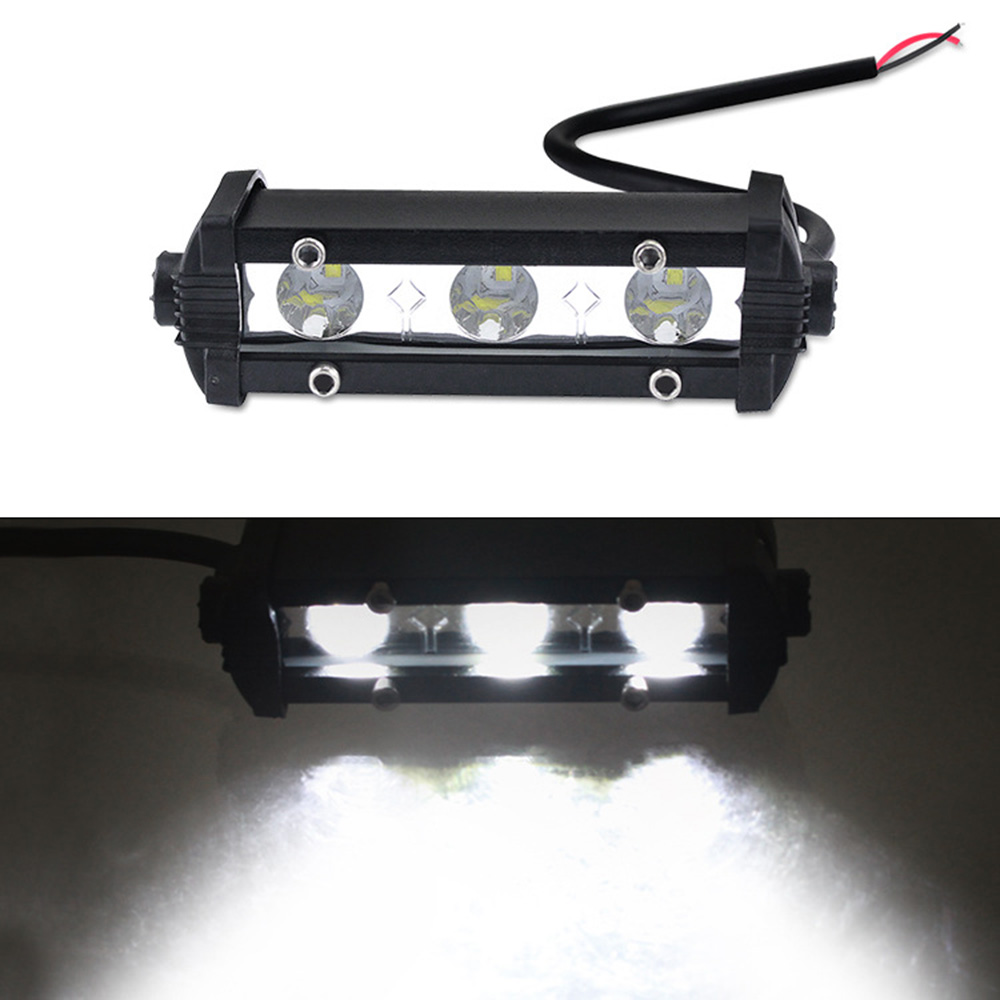 Car Truck ATV Boat 3 LEDs 800LM XBD Working Light Headlight Headlamp IP67 12V 24V 9W Working Light universal in Truck Light System from Automobiles Motorcycles