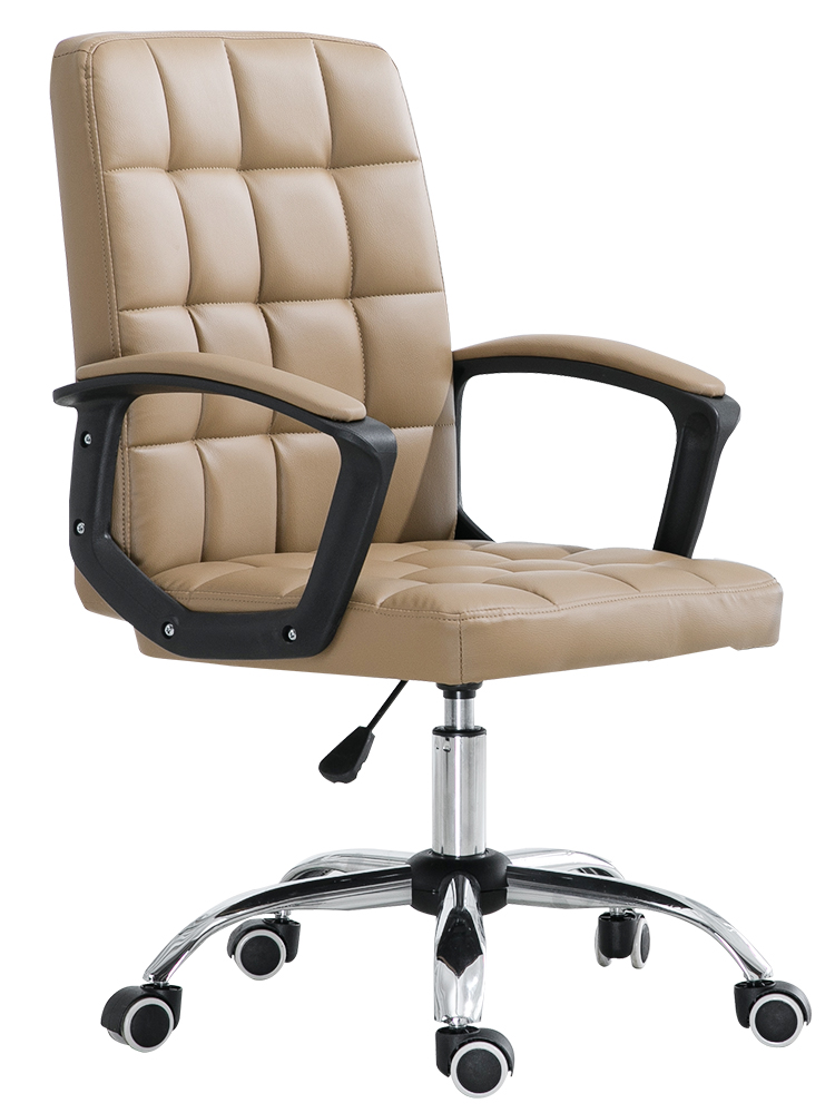 Special Office Chair Home Computer Chair Bow Meeting Chair Staff Lift Rotary Chair Student Backrest Leather Chair