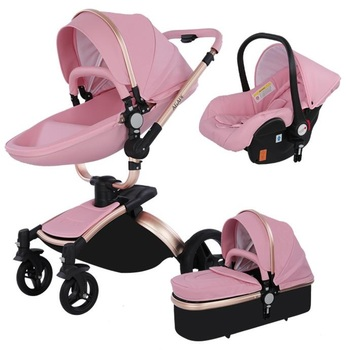 Strollers Baby 3 in 1 Newborn  2