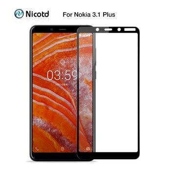 Перейти на Алиэкспресс и купить Для Nokia 3,1 5,1 6,1 Plus закаленное стекло для Nokia 7,2 6,2 4,2 3,2 2,2 Защита экрана для Nokia 2,1 3,1 5,1 6,1 7,1 8,1 стекло