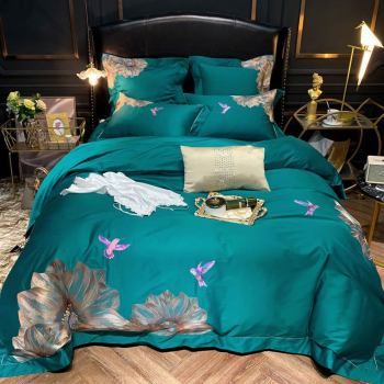 600TC Egyptian Cotton Bed Cover Set