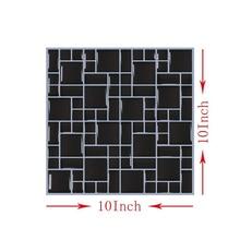 Tile Sticker 10pcs/Pack 25X25CM Self-adhesive Waterproof Wallpaper Kitchen/Bathroom Backsplash DIY Vinyl Marble