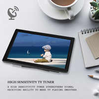 New D14 14 Inch HD Portable TV DVB-T2 ATSC Digital Analog Television Mini Small Car TV Support MP4 AC3 HDMI Monitor for PS4(EU P