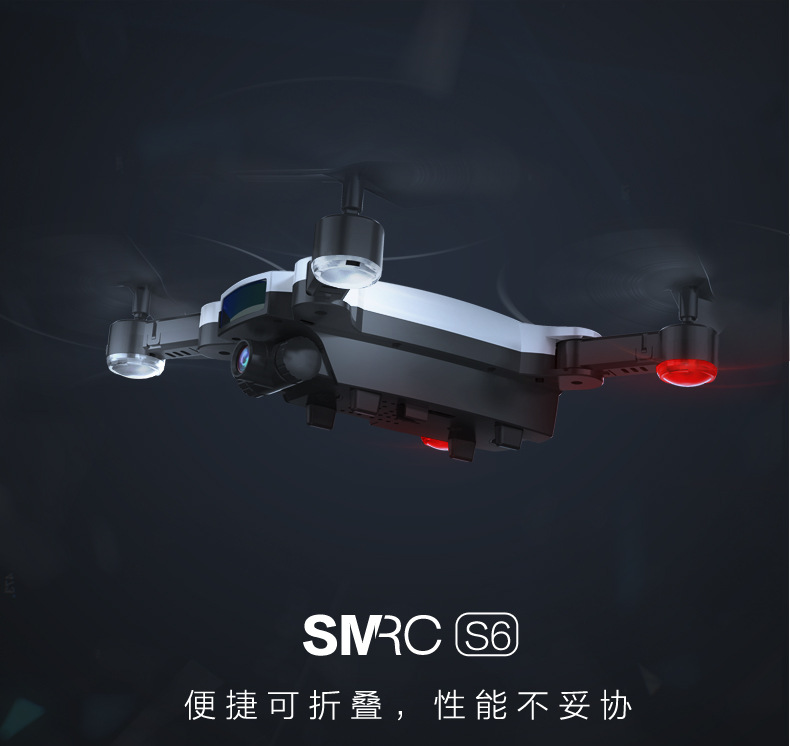 Unmanned Aerial Vehicle Follow Double Camera Remote Control Aircraft Drone For Aerial Photography Unmanned Aerial Vehicle Set Hi