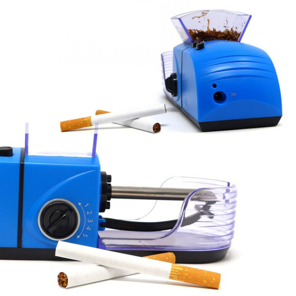 100-240V Electric Automatic Cigarette Roller Tobacco Rolling Injector  78mm DIY Smoking Tool Smoking Accessories EU / US Plug 3
