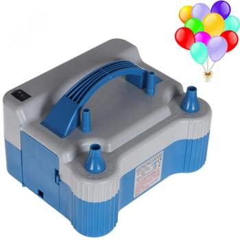 White Electric 680W Household Balloon Inflator Electric Balloon Pump with Two Nozzles