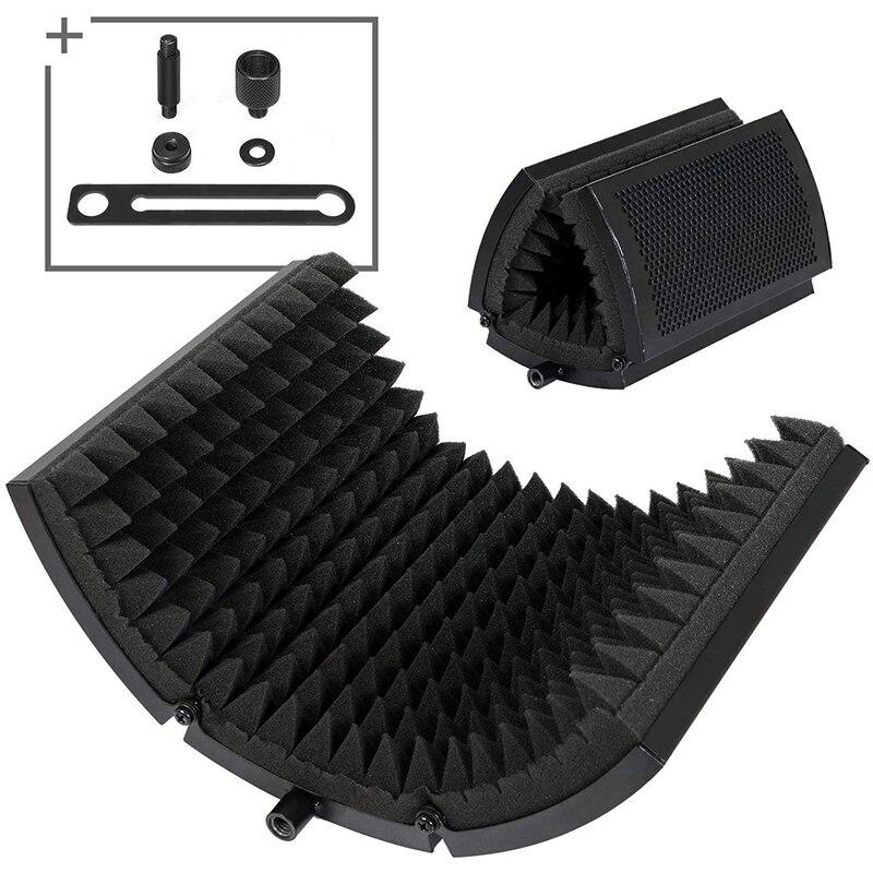 MAONO микрофон изоляционный щит Складная акустическая пенная панель микрофонные аксессуары для Подкаст Студийный микрофон|Микрофоны|   | АлиЭкспресс