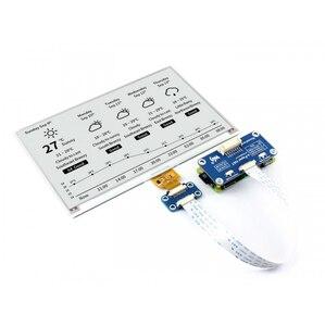 Image 1 - 7.5 インチ電子インクディスプレイ帽子 800 × 480 電子ペーパーモジュール黒、白の二色 SPI バックライトなしラズベリーパイ 2B/3B/3B +/ゼロ/ゼロワット