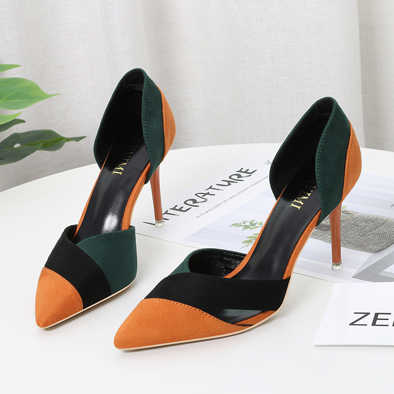 2020 New Fashion High heels sandals High quality women shoes Thin Heels High heels shoes woman Red bottom High heels women shoes