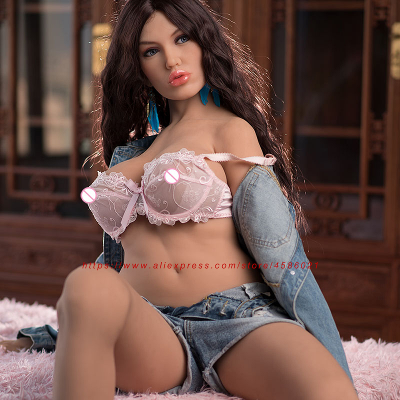 Image 2 - 155cm Full Body Sweet Smile Female Silicone Sex Dolls with Metal Skeleton 3D Vagina Anal Oral Sex for Men Real Love Doll-in Sex Dolls from Beauty & Health
